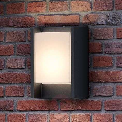 Anthracite-coloured LED outdoor wall light Arbour-7531800-31