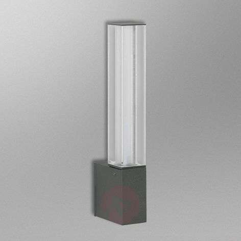 Anthracite-coloured LED outdoor wall light Wadim