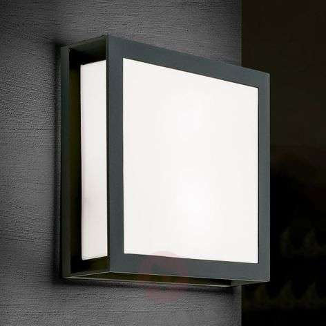 Anthracite-coloured outdoor wall lamp Henry, IP44