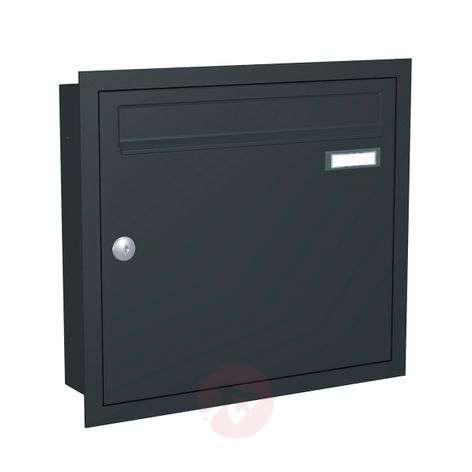 Anthracite grey letterbox Express Box Up 110-5540033-31
