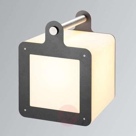 Anthracite-white decorative light Omnicube