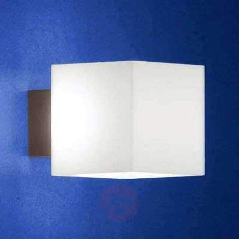 Anti-glare wall light CUBE