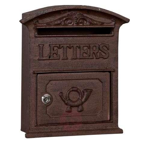 Antiko - wonderful cast iron letter box