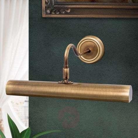 antique brass coloured picture light Lariga 35cm