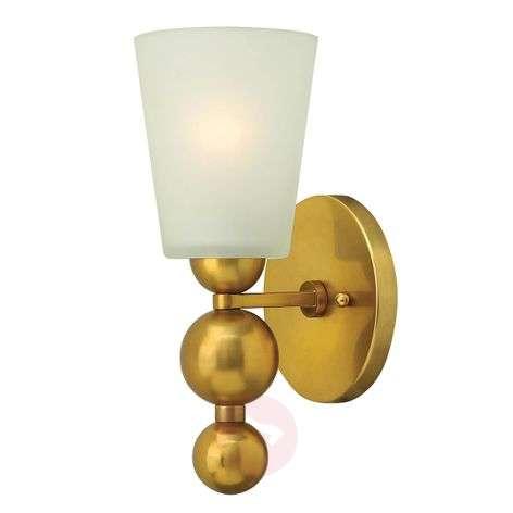 Antique brass-coloured wall lamp Zelda-3048478-31