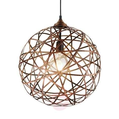 Antique copper hanging light Jacob-9005299-31