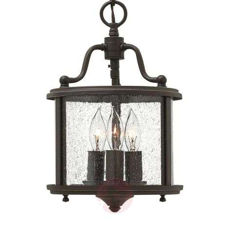 Antique-looking hanging light Gentry