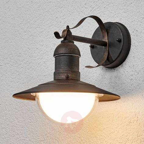 Antique-looking LED outdoor wall light Clea-9960050-31