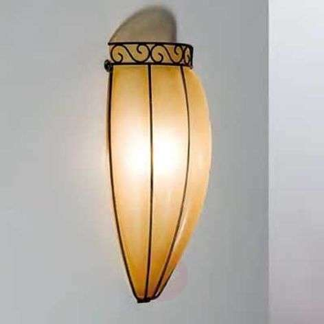 Antique-looking TULIPANO wall light