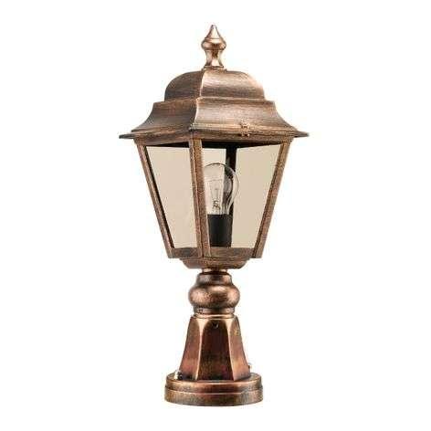 Antique-style pillar light Toulouse