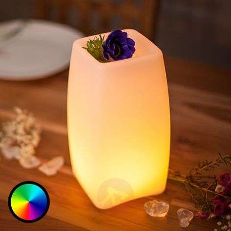 App-controllable LED table lamp Stele with battery