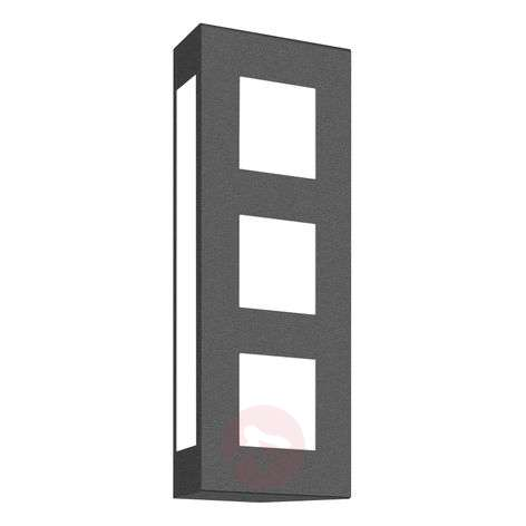Aqua Trilo outdoor wall light in anthracite