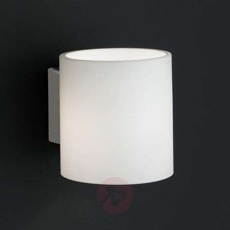Aquaba wall light with flip switch