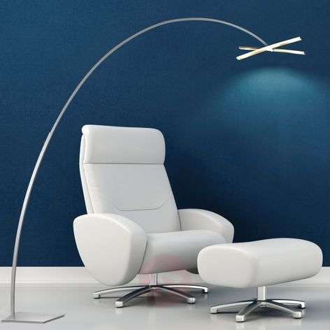 Arco - LED Arc lamp with dimmer button