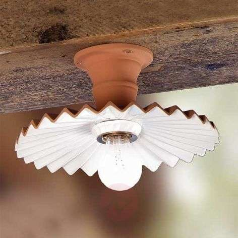 ARGILLA ceiling light in a country house style