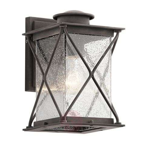 Argyle - Small outdoor wall light, rural style
