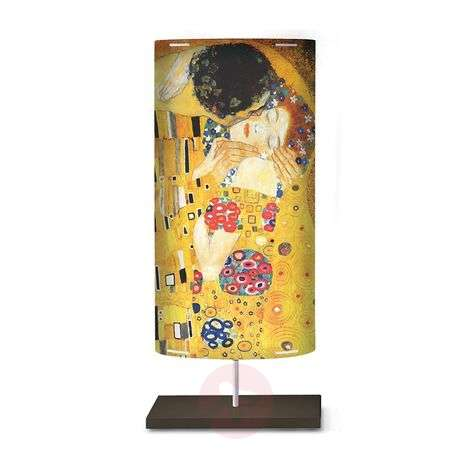 Art motif on the floor lamp Klimt III-1056047-31
