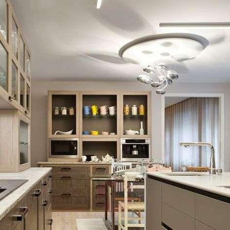 Artemide Mercury LED ceiling lamp 2,700K