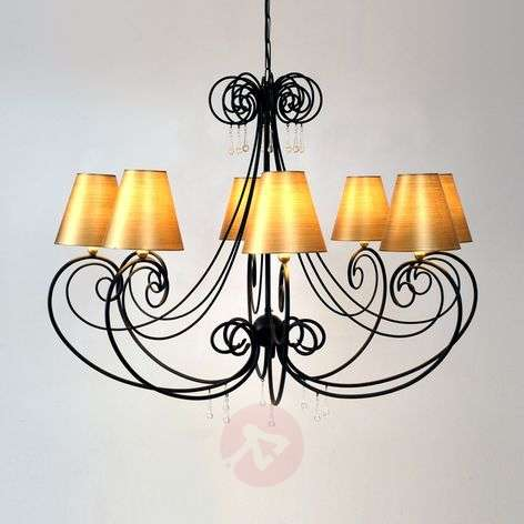 Artistic chandelier Mia, diameter 106 cm