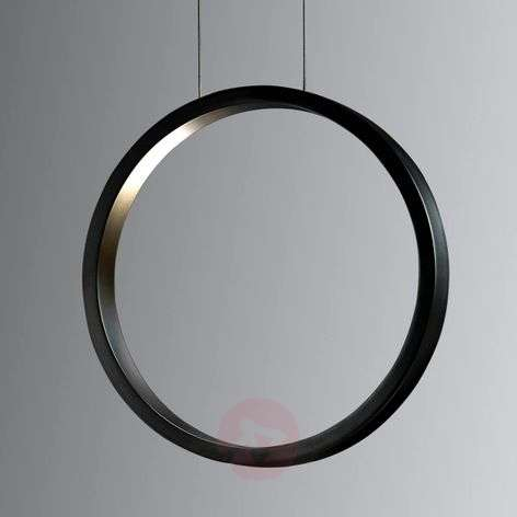 Assolo - black LED hanging light, dimmable