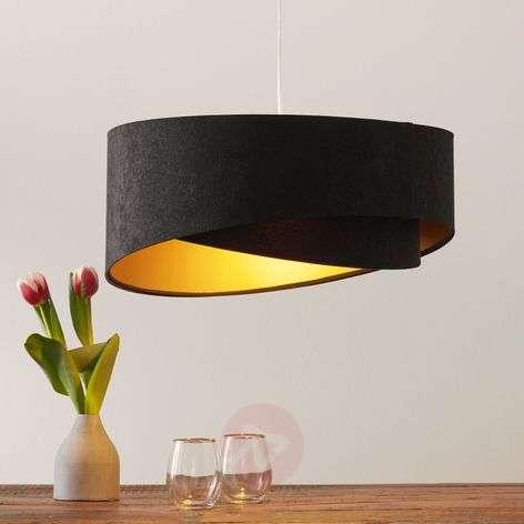 Asymmetrical Emi hanging light, 2-coloured
