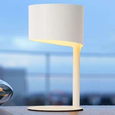 Asymmetrically designed table lamp Knulle