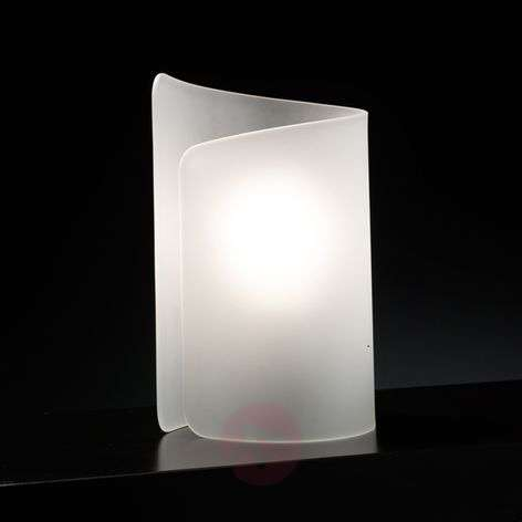 Atmospheric table lamp Papiro satin-finished