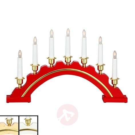 Attractive candle arch Jussi, 39 cm x 30 cm-6507218X-36