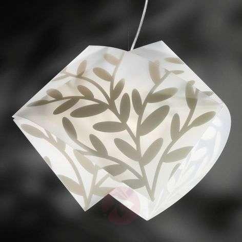Attractive GEMMY DAFNE hanging light, white