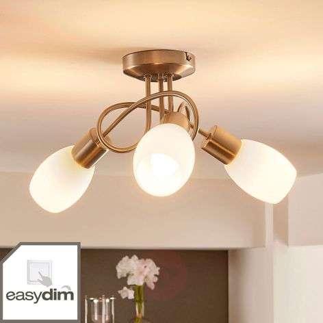 Attractive LED ceiling lamp Arda, Easydim
