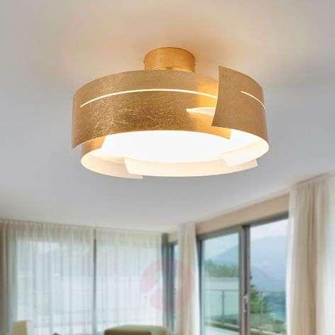 Attractive LED ceiling light Keyron, matt gold-9625119-31