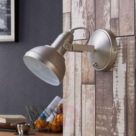 Attractive LED spotlight Tameo, matt nickel