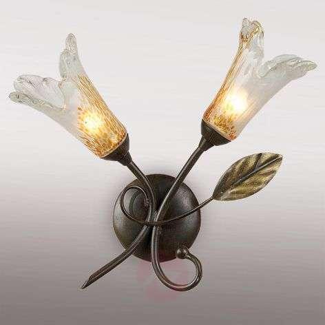 Attractive LED wall light Jana two-bulb