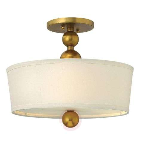 Attractive semi-flush ceiling lamp
