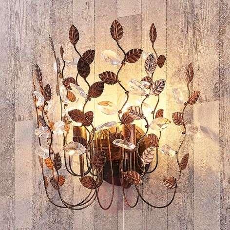 Attractive wall light Amendera, black-gold-9621846-32