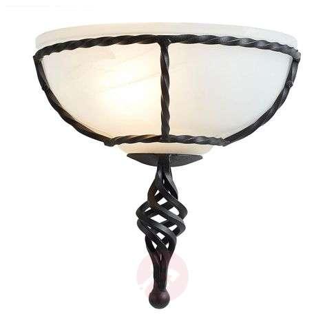Attractive wall light Pembroke black