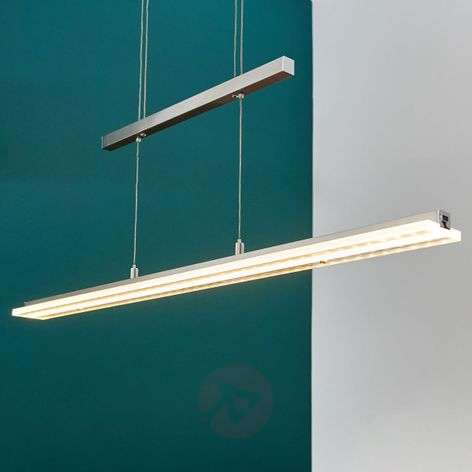 Ava LED hanging light with dimming function
