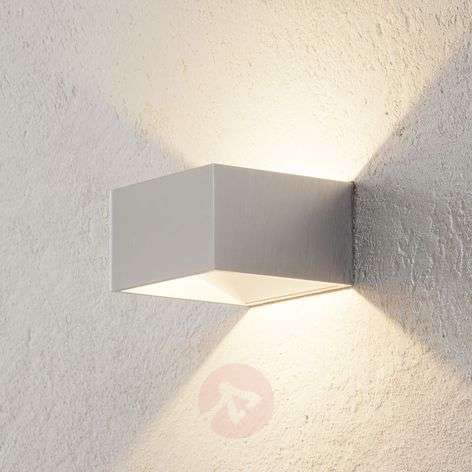 B-Leuchten Cube wall light chrome
