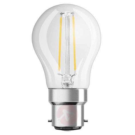 B22 2.8 W 827 Filament LED golf ball bulb