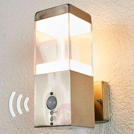 Baily motion sensor LED outdoor wall lamp-9988144-31