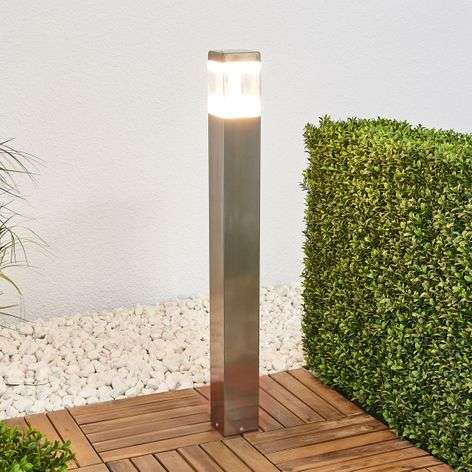 Baily stainless steel path light with LEDs-9988147-31