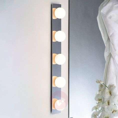 Ball light wall light BULBSTRIP, five-bulb
