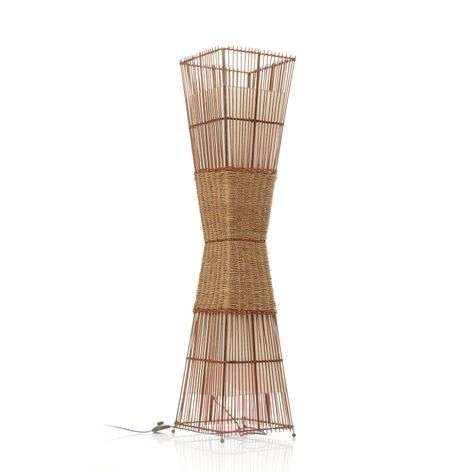 BAMBOO floor lamp, 2-light