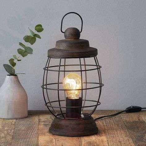 Bampton - rustic table lamp