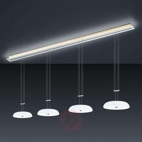 BANKAMP Strada Vanity hanging light, 4-bulb 185 cm