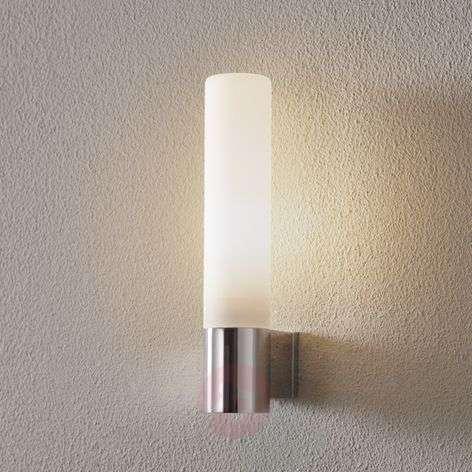 Bari Bathroom Wall Light with White Glass-1020012-32