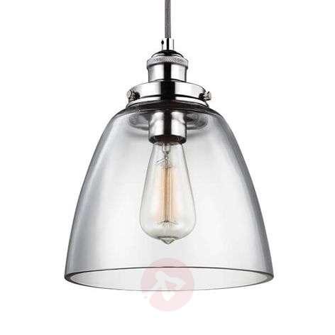 Baskin B hanging light polished nickel suspension