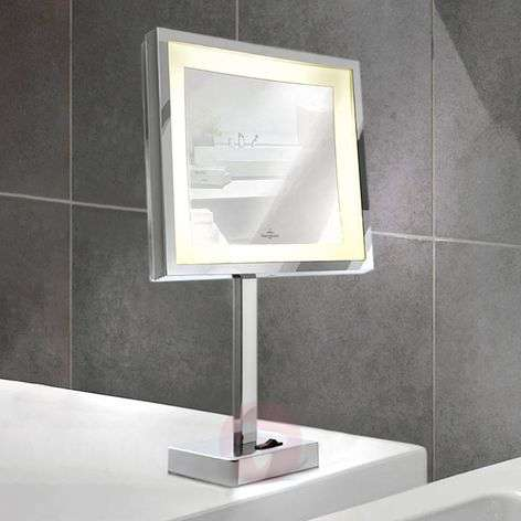 Battery-powered LED cosmetics mirror London-8507620-31