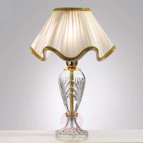 Beautiful Belle Epoque table lamp, 48cm