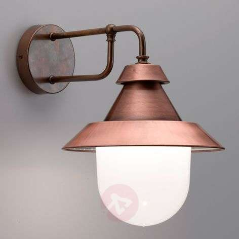 Beautiful Castello outdoor wall lamp, material mix